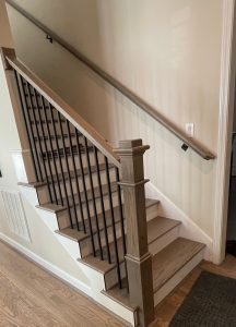 Hardwood Staircase in Fort Mill, SC