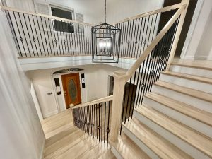Stairs Balusters, posts, hardwood stairs in Charlotte