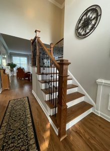 Iron Stairs Balusters in Waxhaw, NC