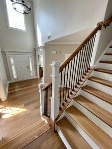 Hardwood Staircase in Waxhaw, NC
